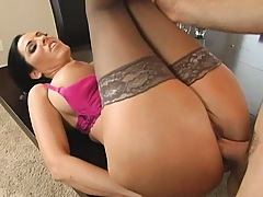 Hot chick spreads it and sucks it