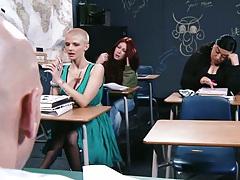 Joslyn James taking a class and fucking teacher