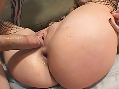 Hot Tricia has an amaizing round ass for anal