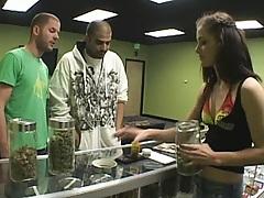 Teen needs to fuck to get some legal marijuana