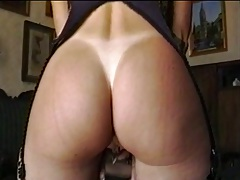 Round ass Tianna with nice tan lines gets fingered