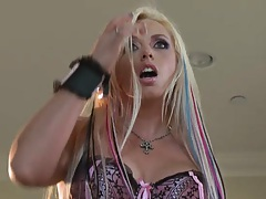Two dudes are spying on Britney Skye