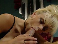 Large tits milf whore Kaitlyn Ashley sucking penis