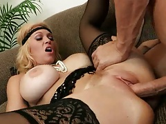 Milf Charlee Chase likes a big dick in her mature but tight pussy