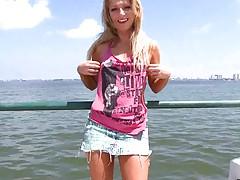 Cute teen Jaylyn Fox outdoors