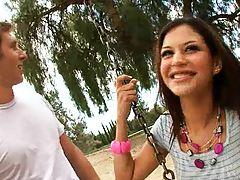 Latina rampage with Ariana Fox hot 19 year old