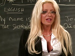Big tits at school with naughty teacher Hellfire
