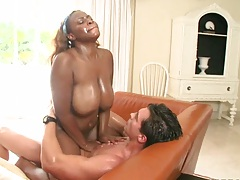 Tori Taylor riding cock and her big natural tits bounce
