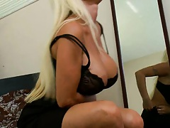 MIlf like it big with Holly the big tits mama