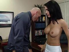 True slut niece Jessica sucks penis and titty fuck
