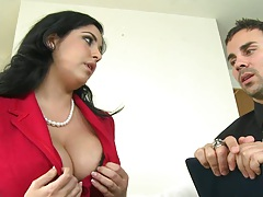 Big tits mlif Jada had enough of Daryls fuckups