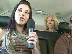 Driving around with weird sex tricks