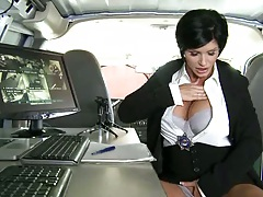 Shay Fox is a secret government agent on a stakeout for cock
