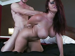 Doggy style fucking Sophie dee with ass spreading