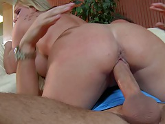 Tyler the super milf sits on cock and humps it