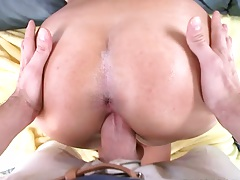 Pov doggy style milf Amber Cox fuck with blowjob
