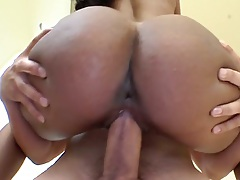 In the air fucking with Zuri and reverse cowgirl
