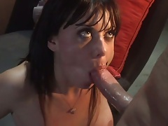 Blowjob from Penny Flame and doggy style penetration