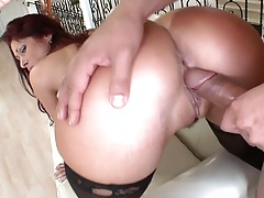 Round ass milf Tiffany Mynx rough fucked and pussy licked
