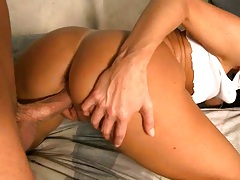 India Summer doggy style fucked with a moan