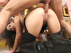 Doggy style anal with whore Simony Diamond