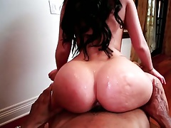 Cowgirl for white slut Dianna Dee getting fucked by big black dick
