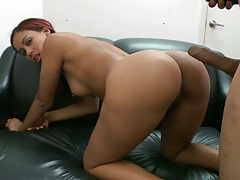 Doggy style fucking fresh latina from behind