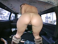 Nice ass Amy and Brianna Love running bangbus for their pussy