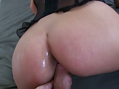 Slut Ivana Sugar getting rear entry anal and doggy style anal with dildo