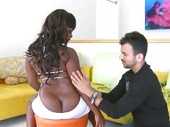 Jzmin and her amaizing round black ass