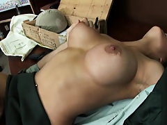 Dude ordered to fuck the big tits general Jenaveve Jolie