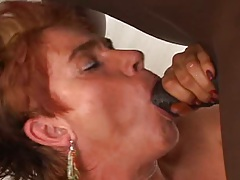 Interracial gilf fuck with Cica entered and sucking