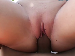 Close up of naked chick fucked in a jacuzzi