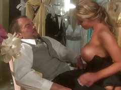 Big tits hand job and blowjob with close up fuck for Charisma Cappelli