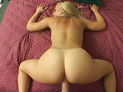 Nice round ass cheeks view while Maxine Tyler fucked from behind
