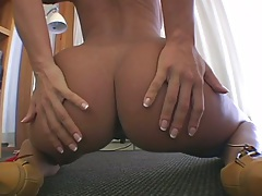 Ass spreading Sandra Romain with Julia Bond and Alayah Sashu in group