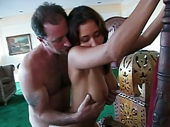 Doggy style hardcore standing fuck with Vanda Vitus and close up anal penetration