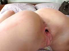 Doggy style fucking tight ass Megie from behind