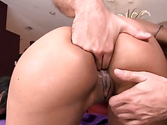 Nice big black juicy ass fingering and cowgirl fucking