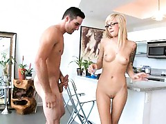 Fucking in the living room getting vagina ripped Emma Mae