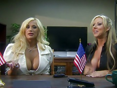 Big tits office bitches Carolyn Reese Shyla Stylez