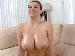 Big natural tits Sara Stone shows her goods