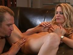 jessica drake a blonde busty milf that needs fingering fucking