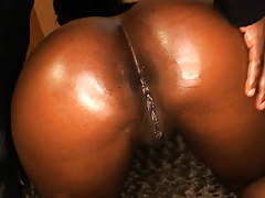 Big tits round ass Aryana Starr filled with black shaft
